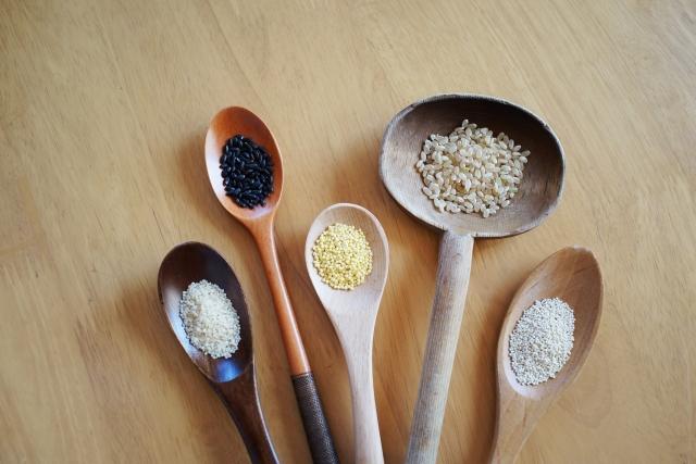 様々な穀物