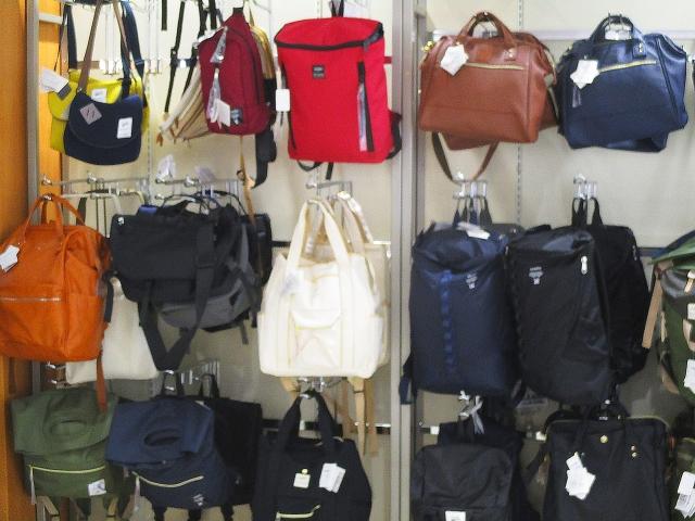 様々なバッグ