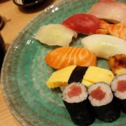 わさびが最も活かされる料理「にぎり寿司」