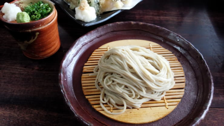 わさびが活かされる日本料理の定番「お蕎麦」