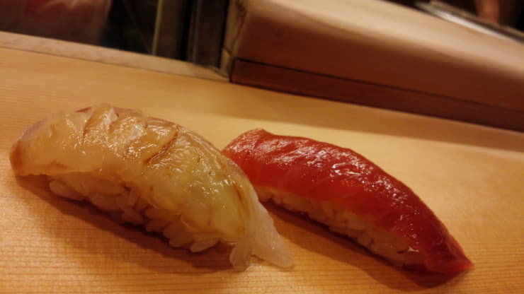 わさびのベストパートナー「お寿司」