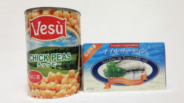 お役立ち缶詰め2種