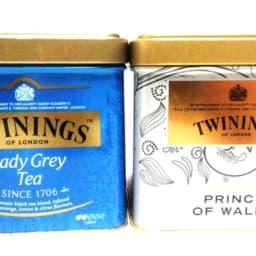 トワイニング紅茶缶2種