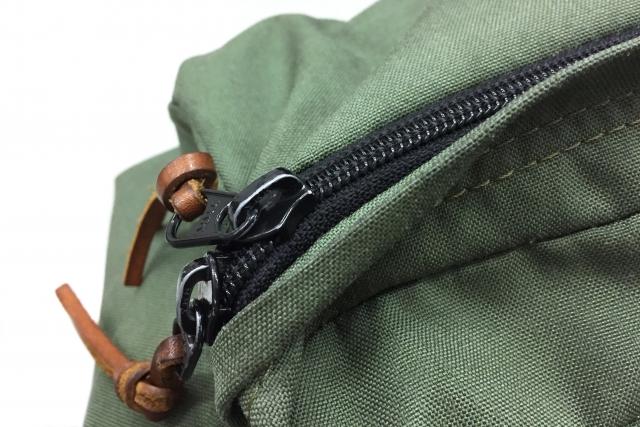 リュックのポケット部分