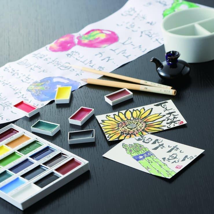 絵手紙に必要な道具