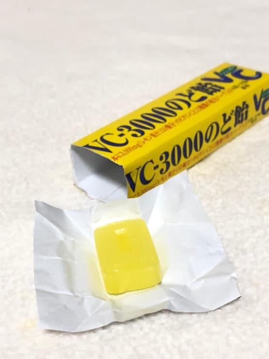 第8位 ノーベル製菓 VC-3000のど飴