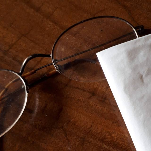 メガネクリーナー シートタイプ