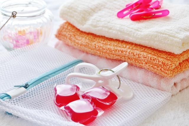 洗濯ネットと洗濯用品