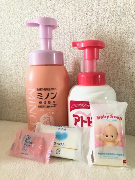 乾燥しやすい赤ちゃんの肌のために!ベビーソープおすすめランキングベスト8