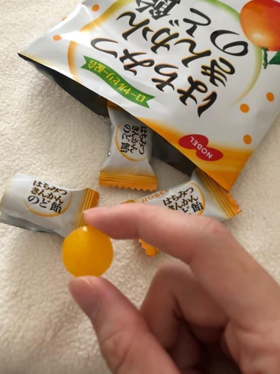 第4位 ノーベル製菓 はちみつきんかんのど飴